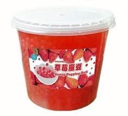 Picture of BOBA- STRAWBERRY TOPPING 4/7lb