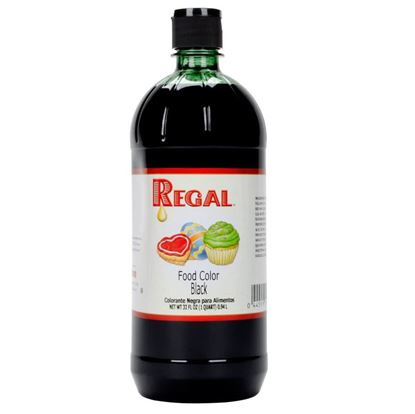 Picture of BLACK FOOD COLOR - 1 QUART