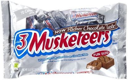 Picture of CANDY- Fun Size 3 Musketeers