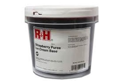 Picture of R&H STRAWBERRY PUREE - 2/1GAL