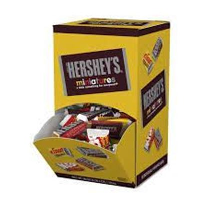 Picture of CANDY- HERSHEY'S MINITURES
