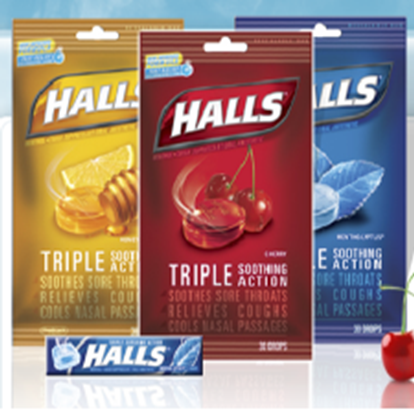 Picture of CANDY- HALLS MENTHOLYPTUS 20ct