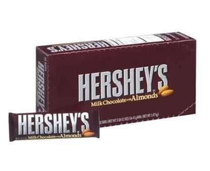 Picture of CANDY- HERSHEY ALMOND 36CT