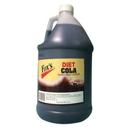 Picture of FOX'S - DIET COLA SYRUP 1 GAL