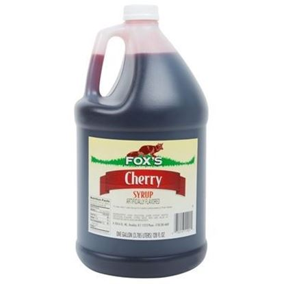 Picture of FOX'S - CHERRY SYRUP 1 GAL