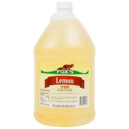 Picture of FOX'S - LEMON SYRUP 1 GAL