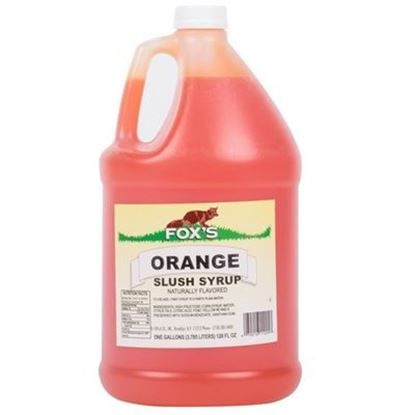 Picture of FOX'S - ORANGE SYRUP 1 GAL