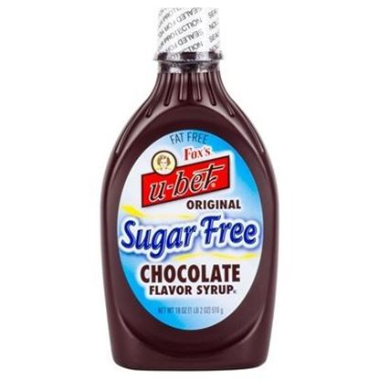 Picture of FOX'S - S.F. CHOCOLATE SYRUP