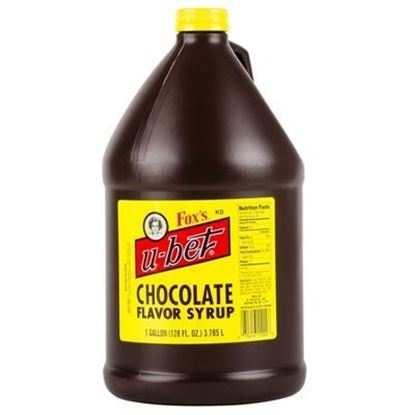 Picture of FOX'S - U-BET CHOC SYRUP 1gal