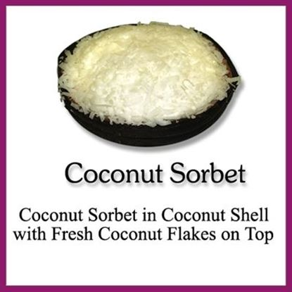 Picture of SORBET SHELL COCONUT