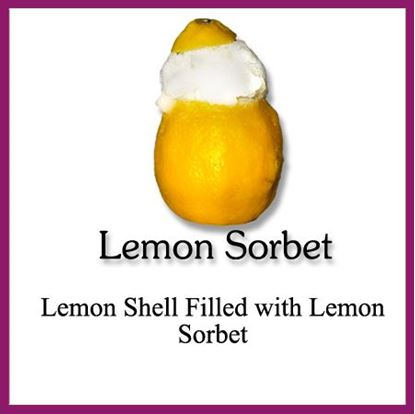 Picture of SORBET SHELL LEMON