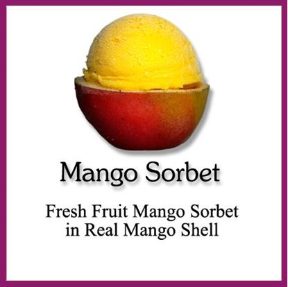 Picture of SORBET SHELL MANGO