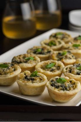 Picture of ARTICHOKE & SPINACH TART 100ct