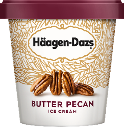 Picture of H.D. PINTS- BUTTER PECAN 8ct