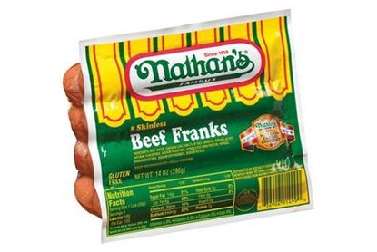 Picture of NATHANS HOT DOGS 2/5LBS