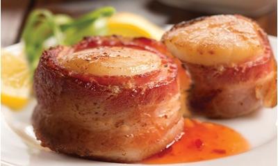 Scallops W/ Bacon 100ct
