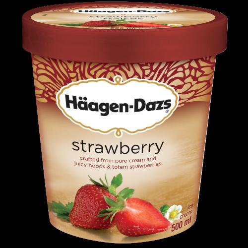 Haagen Dazs Pint- Strawberry