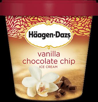 Haagen Dazs Pint- Vanilla Choco Chip