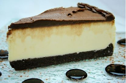 Picture of DS* BROWNIE CHEESECAKE 12 CUT