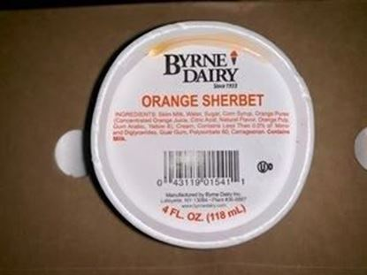 Picture of 4oz SHERBET CUP ORANGE
