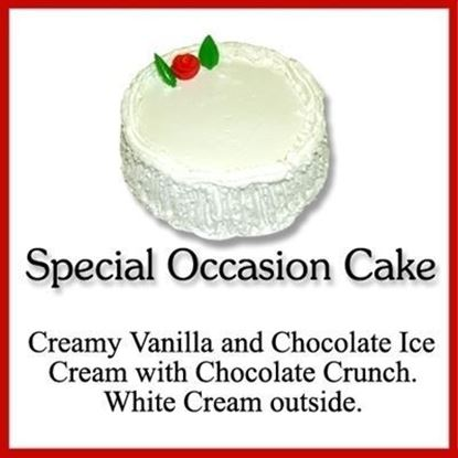 """Picture of SPECIAL OCC CAKE 8""""(4pack)"""