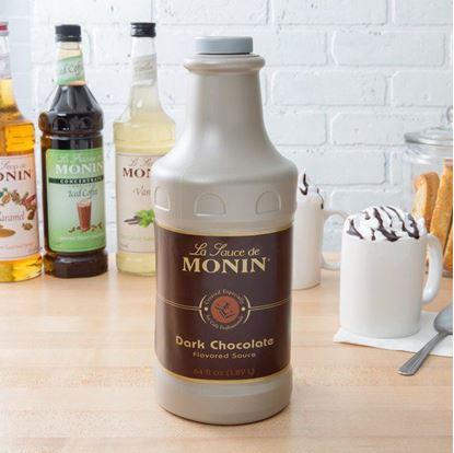 Picture of MONIN DARK CHOCOLATE SAUCE