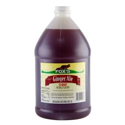 Picture of FOX'S - GINGERALE SYRUP 1 GAL