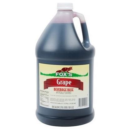Picture of FOX'S - GRAPE SYRUP 1 GAL
