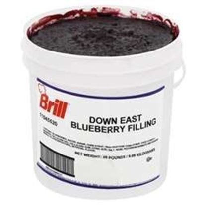 Picture of BLUEBERRY PIE FILLING 20LB TUB