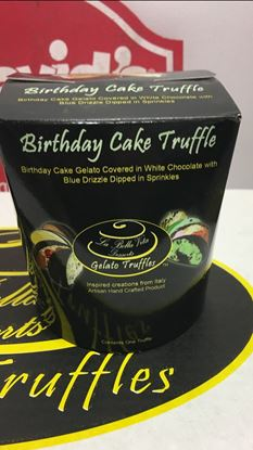 Picture of TRUFFLE CUP- BDAYCAKE 12ct
