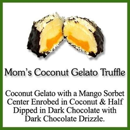 Picture of GELATO TRUFFLE MOM'S COCONUT