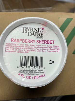 Picture of 4oz SHERBET CUP RASPBERRY