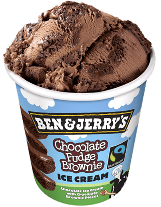 Picture of B&J PINTS - FUDGE BROWNIE 8ct