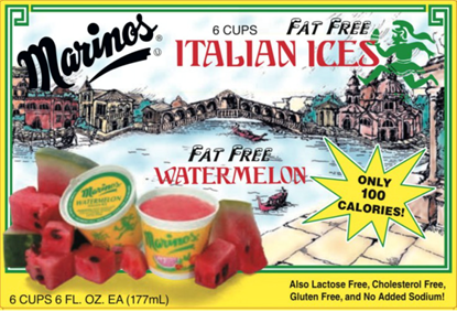 Picture of MARINO ICE CUPS - WATERMELON