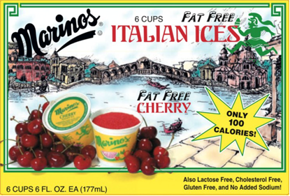 Picture of MARINO ICE CUPS - CHERRY