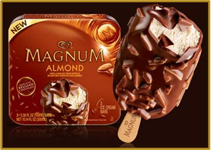Picture of GH MAGNUM ALMOND BAR 12ct