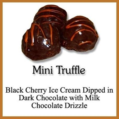 Picture of MINI TRUFFLE BLACK CHERRY 72ct