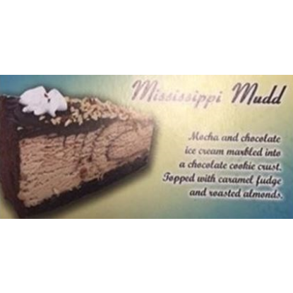 Picture of MISSISSIPPI MUD CAKE 12 cut