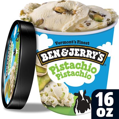 Picture of B&J PINTS - PISTACHIO 8ct